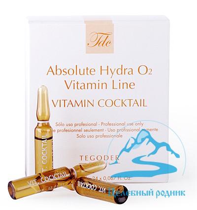 Коктейль №1 с витаминами и минералами «Vitamin Coctail» 2мл