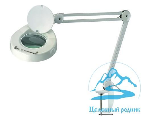 Лампа-лупа 3D струбцина